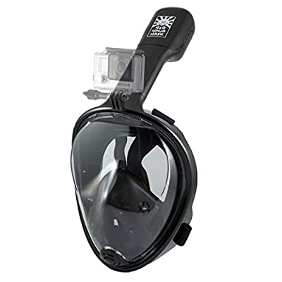 H2O Ninja 180° View Full Face Snorkel Mask