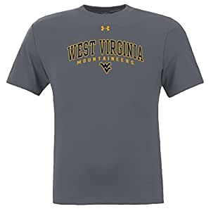 West Virginia Performance TShirt Charcoal Touchstone - 2XL - Charcoal Heather Gray