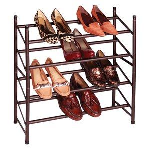 shoe rack bronze - 8