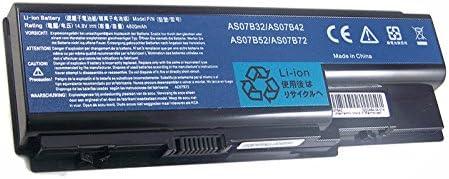 Bouyi 14.8V 8 Zellen 4800mAh AAA Ersetzen Notebook Laptop Akku AS07B42 AS07B52 AS07B72 AS07B32 Akku f/ür Acer Aspire 5940G 5942G 8930G 8935G 8940G AS07B42