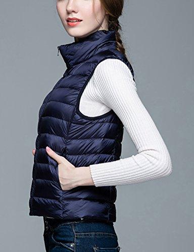 Femme Mode Gilet Sans Duvet Ultra de Chaud Manche L Aivtalk Hiver Doudoune 4UwqSwCf