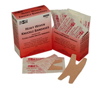 Pac-Kit by First Aid Only 1-825 Woven Knuckle Bandage (Box of 25) from Pac-Kit