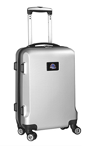 NCAA Boise State Broncos Carry-On Hardcase Spinner, Silver by Denco