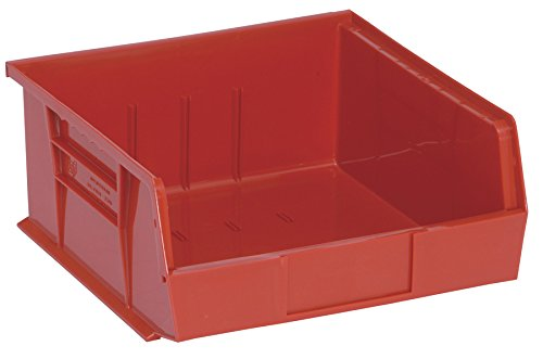 Quantum Storage Systems Hang/Stack Bin, 10-7/8L X 11W, Red by Quantum Storage Systems