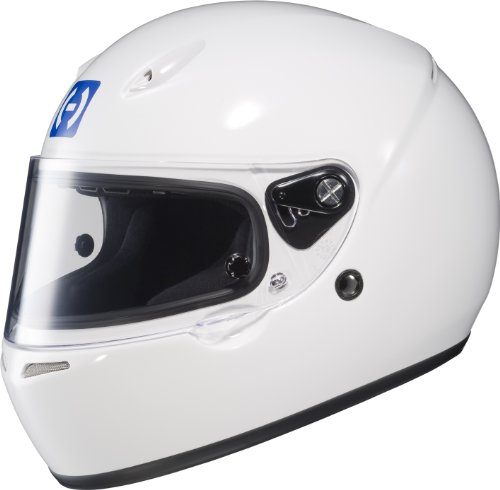 HJC Helmets 2WXXL10 AR-10 II White XX-Large SA2010 Approved Auto Racing Helmet