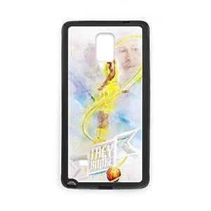 Samsung Galaxy Note 4 Cell Phone Case Black Trey Burke Rgtzt