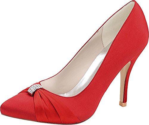 Femme Red Salabobo Compensées Sandales Salabobo Sandales qzwFBI
