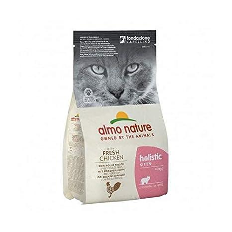 Pienso Almo Nature Holistic para gato con pollo y arroz - 12 kg: Amazon.es: Productos para mascotas