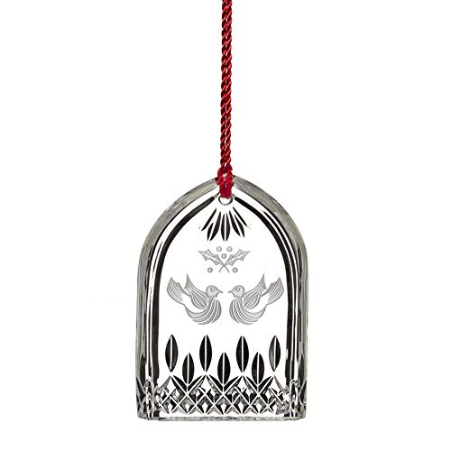 Waterford 12 Days Of Christmas 2015 Lismore Two Turtle Doves Ornament