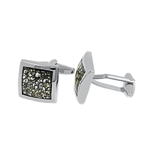 Premium-Cuff-Links-with-Swarovski-Black-Patina-Crystal-Elements-Designed-Made-in-England