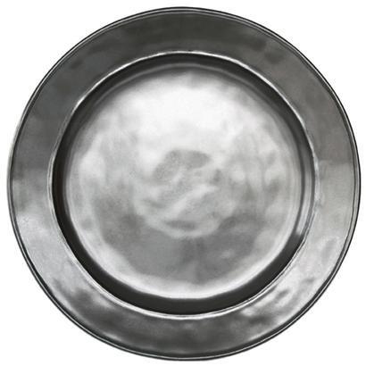 (Juliska Pewter Stoneware Round Dinner Plate)