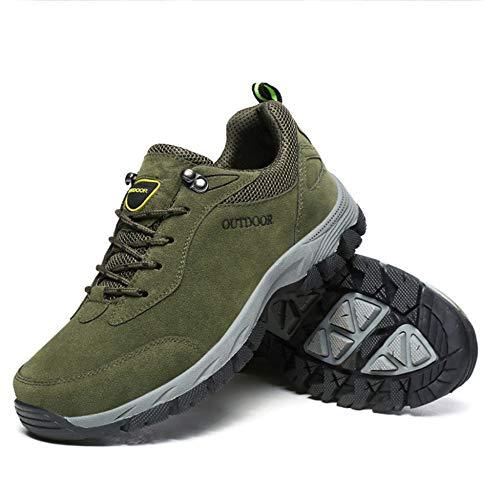 Hombre Escalada Running De Acampar Aire Deporte Merryhe Green Senderismo Al Para Zapatillas Alpinismo Calzado Vintage Libre fxwnqOE1Ig
