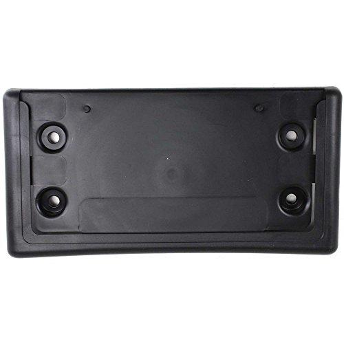 License Plate Bracket for Oldsmobile Trailblazer 02-09 Front Black