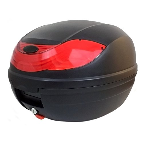 Motorcycle Scooter Top Box Tail Trunk Luggage Box - 32 Lt Capacity - Can Store one (1) Helmet HARD CASE (815)