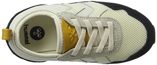 Hummel Unisex-Kinder Reflex Slim Jr Low-Top Weiß (Pristine White)