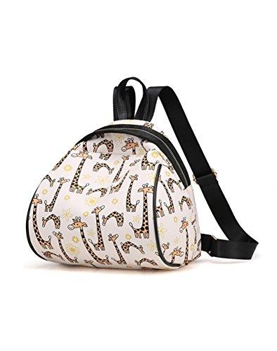 HUAYUN - Bolso mochila  de nailon para mujer Reno