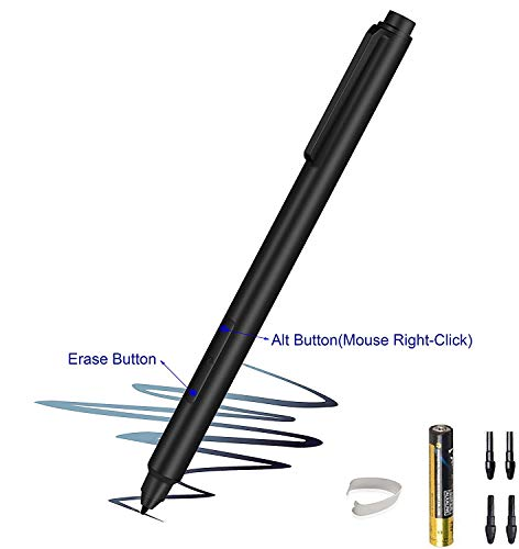 Surface Pen, Surface Pen for Surface Pro 4 and Surface Pro 3,4096 Levels of Pressure for High-Fidelity Writing, Drawing or Painting (Black)