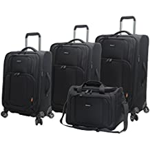 Pathfinder Luggage Presidential 4 piece Spinner Suitcase Set
