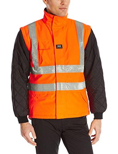 Helly Hansen Workwear Workwear Men's Potsdam Hi-Visibility Lining, EN471 Orange/Black, (Medium Regular Hi Visibility)