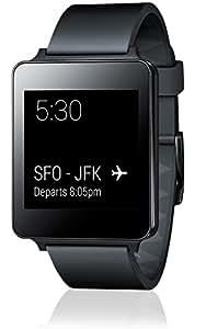 "LG G Watch - Smartwatch (pantalla 1.65"", 4 GB, Quad-Core 1.2 GHz), negro"