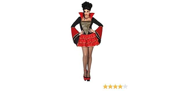 Atosa-26174 Disfraz Vampiresa para Mujer Adult, Color Rojo, XL ...