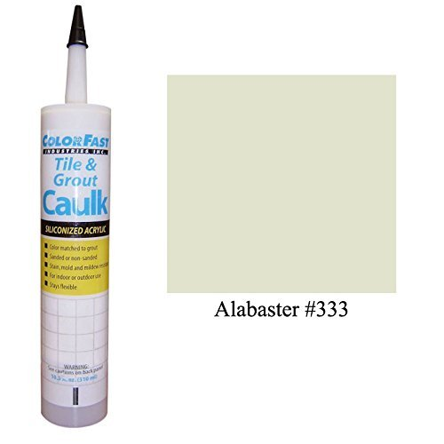 Color Fast Caulk Matched to Custom Building Products (Alabaster (Alabaster Painting)