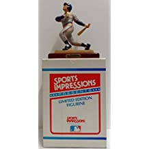 """Collectible Alan Trammell Limited Edition 6.5"""" Sports Figurine in Detroit Tigers Uniform - Serial #103 of #2,500 (Made by Sports Impressions in 1988) Free Shipping"""