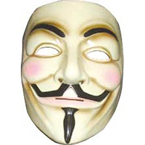 Anonymous Man Costume (V for Vendetta Mask)