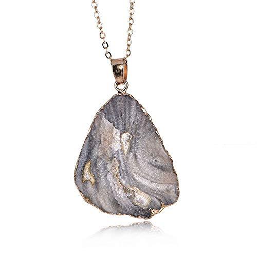 Accessories Stone Stone Pendant Pendant Natural Stone Necklace Sweater Chain