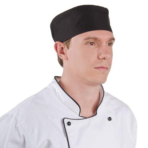 gracelife chef cap poly cotton blend pill box chef hat flat color optional black buy. Black Bedroom Furniture Sets. Home Design Ideas