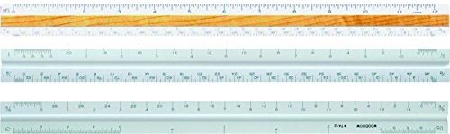 Woodrow Architectural Triangular Scale Ruler