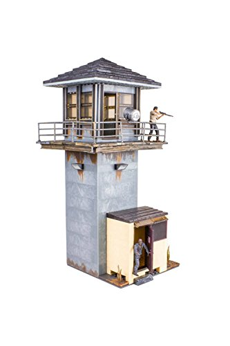 Walking Dead McFarlane Toys The Prison Tower Building Set  AMC TV Series - Fun to Assemble  A Centerpiece to Your Collection