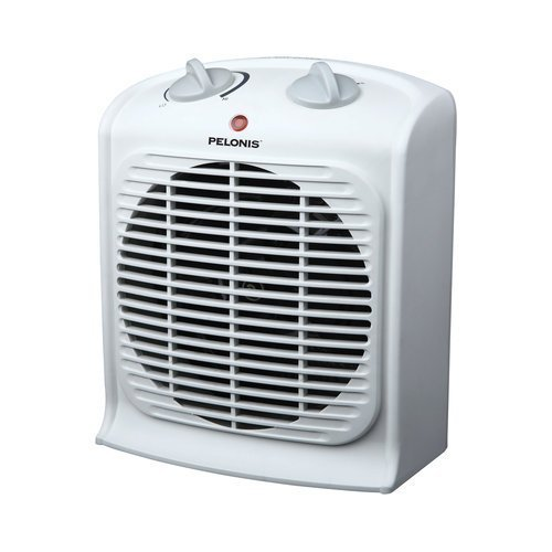 Pelonis HF-0020T Fan-Forced Heater for Small Room Ceramic Heaters Pelonis