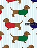 Planner: Adorable Dachshund 1 Year Daily Planner (12 Months) | 2020 - 2021 | 365 Pages for Planning | January 20 - December 20 | Appointment Calendar ... | Plan Each Day Set Goals & Get Stuff Done