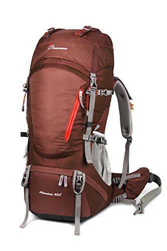 Mountaintop 65L Internal Frame Backpack Hiking Backpack with - Import It All f40d177fb2368