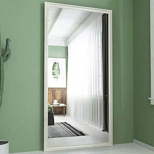 Tian Natural European Solid Wood Floor Mirror,Full-Length Floor Mirror Bedroom Living Room -