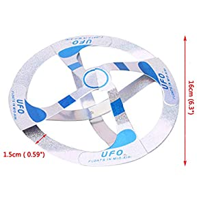 Bettal Mystery UFO Floating Flying Disk Magic Creative Trick Saucer Toy, Paper