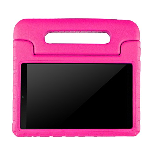LG G Pad 7.0 Kids Case – BMOUO Protective Light Weight Shock Proof Convertible Handle Stand Case for LG G Pad V400 / V410 (LTE) / VK410 / UK410 / LK430 (G Pad F7.0) 7 Inch, Rose