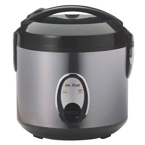 Sunpentown SC-0800S 4-Cup Stainless-Steel Rice Cooker