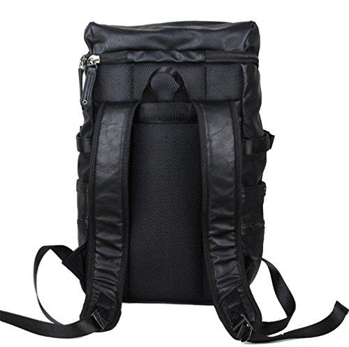 borsa a tracolla uomini casuale sacchetto di modo zaino grande viaggio capacità simpatico zaino casuale