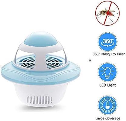 Aspirador De Insectos De Interior Lámpara Para Mosquitos USB ...