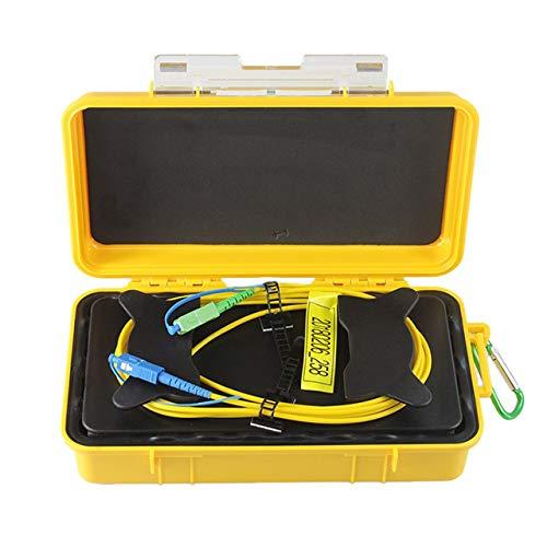 SC-UPC/SC-APC Professional Single Mode 1KM OTDR Launch Cable Box Fiber Ring
