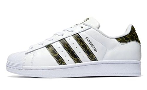 adidas Men, S Superstar Foundation White