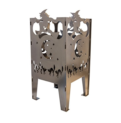 Curonian FBWitch Witch Solid Steel Wood Burning Fire -