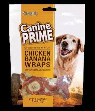 Sergeants Canine Prime Chkn Bnana Dg Trts 8Oz