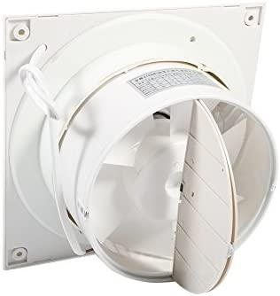 "4/"" Inch Kitchen Bathroom Toilet Wall Extractor 100mm Fan IPX4 Humidity /& Timer"