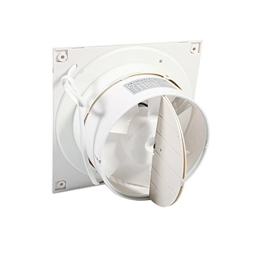 Extractor Fan, 4'' 6'' Ventilating Exhaust Extractor Fan For Bathroom Toilet Kitchen Window Wall Mounted(6寸) by Estink (Image #4)