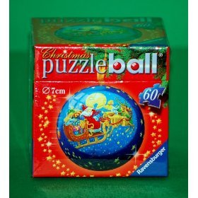 Puzzleball Christmas Puzzle - 60-piece - Santa's Toys