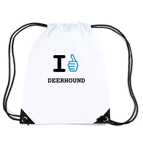 JOllify DEERHOUND Turnbeutel Tasche GYM6355 Design: I like - Ich mag