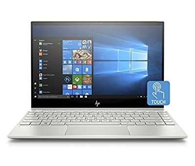 HP Envy 13-inch Laptop with Amazon Alexa, Intel Core i7-8550U Processor, 8 GB RAM, 256 GB Solid-State Drive, Windows 10 Home (13-ah0010nr, Silver)